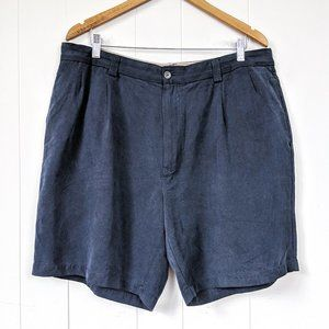 Tommy Bahama Navy Blue Chino Shorts Size 38